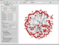 v1.4 301 actors circular nodal pagerank  centrality layout