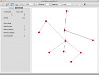 v1.4  random network  - multirelational editing - 1st relation