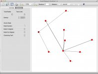 v1.4  random network  - multirelational editing - 2nd relation